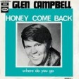 Glenn Campbell - Honey, Come Back